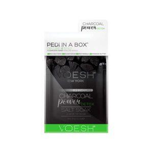 Pedi in a box - Charcoal Detox power, Voesh