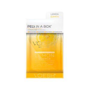 Pedi in a box - Lemon Quench, Voesh